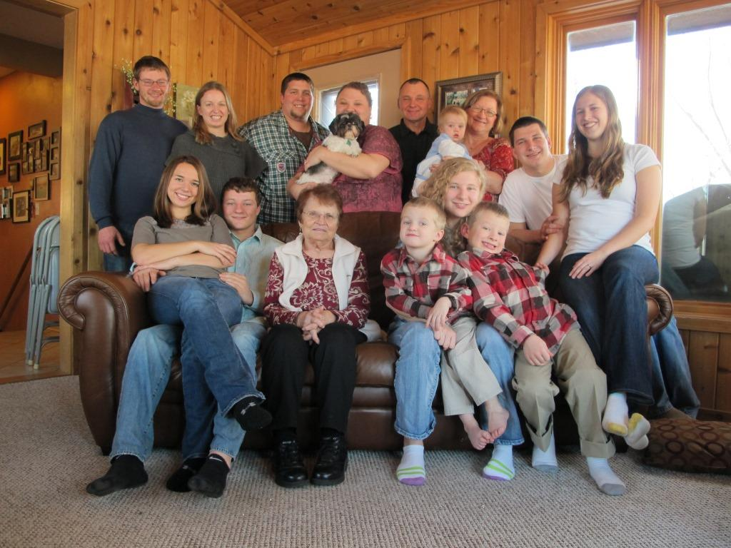 Simon Family, Christmas 2012