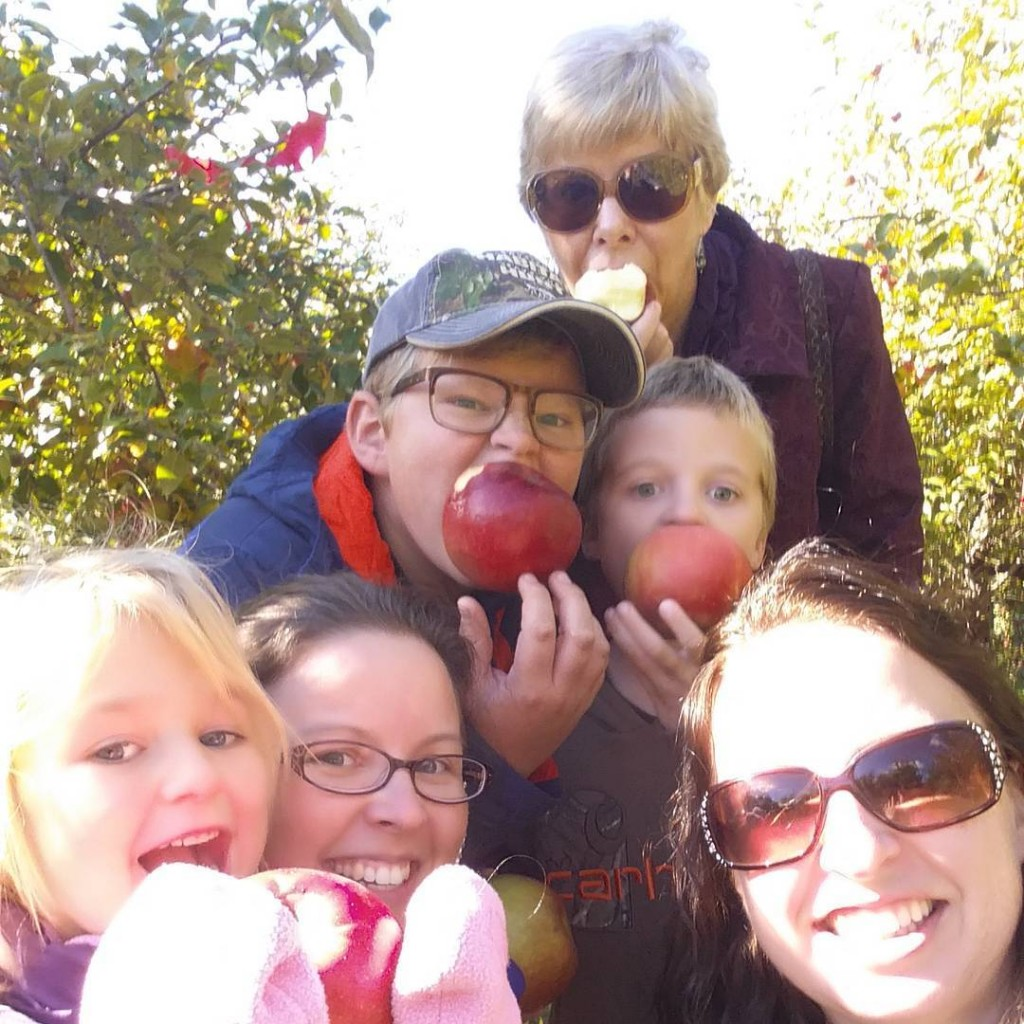 Back in Minnesota we celebrate MEA with apples nofilter falldayhellip