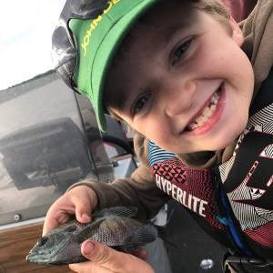 Fishing on Park Lake herefishyfishy familytime
